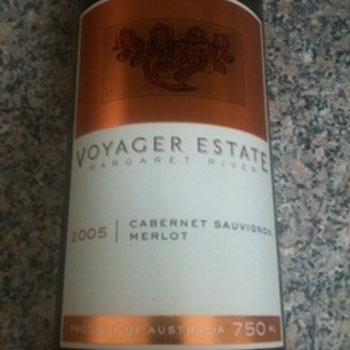 Voyager Estate cab/merlot 2005