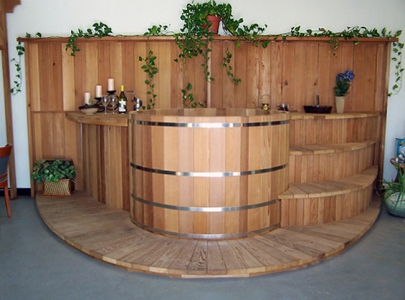 Hot Tub Surrounds And Steps Custom Leisure Products