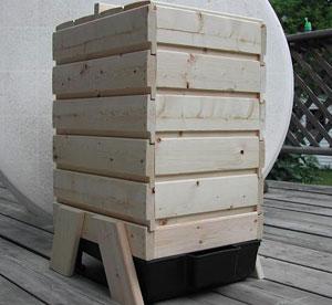 wood worm bin plans