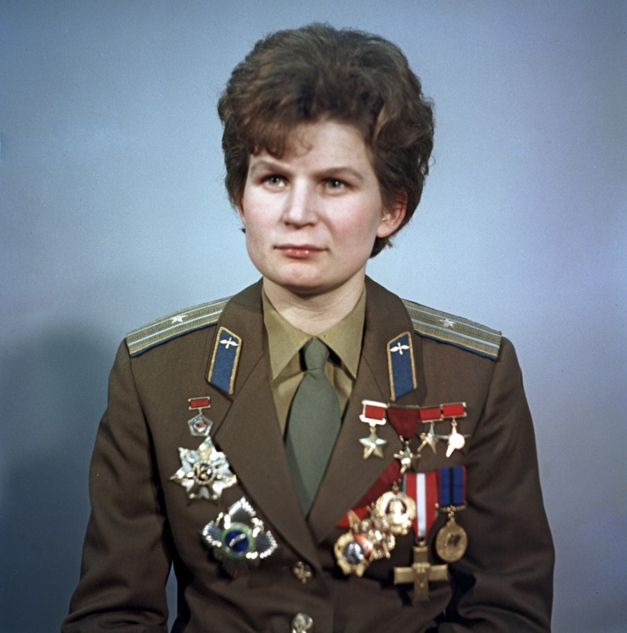 Valentina Tereshkova, the first woman in space