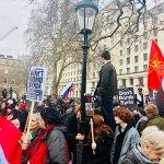 Hands off Syria demo