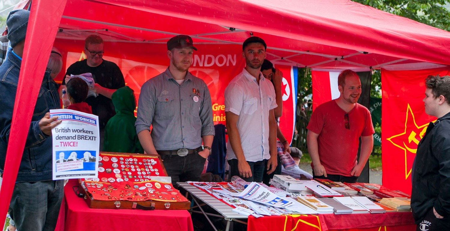 Durham Miners Gala (Jul 2019) Red Youth