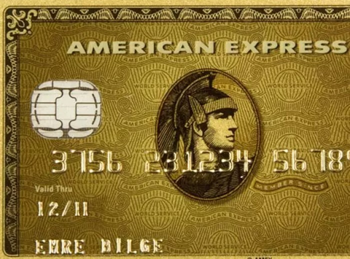 Carte American Express Gold