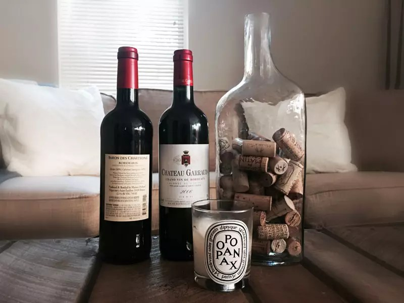 comment lire une bouteille de vin