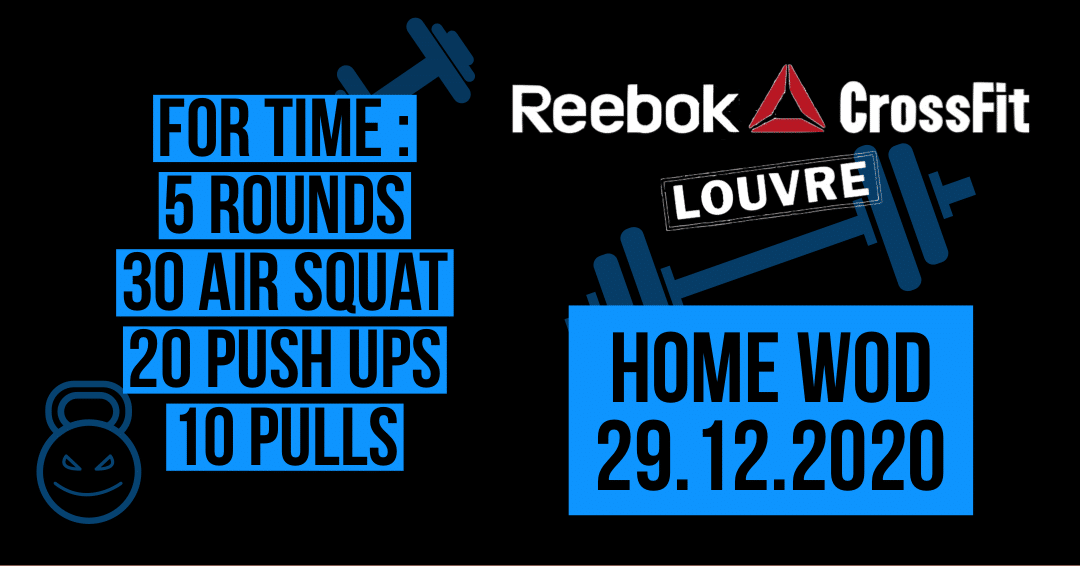 Pull Air Squat Push Up For Time Gym Metcon