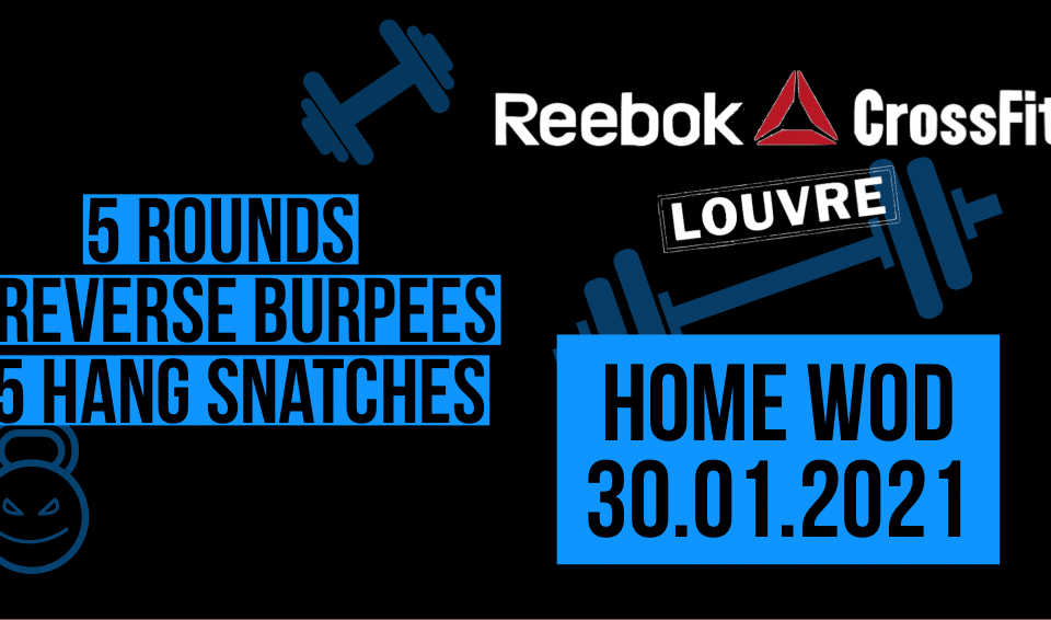 Reverse Burpee Hang Snatch For TIme Couplet