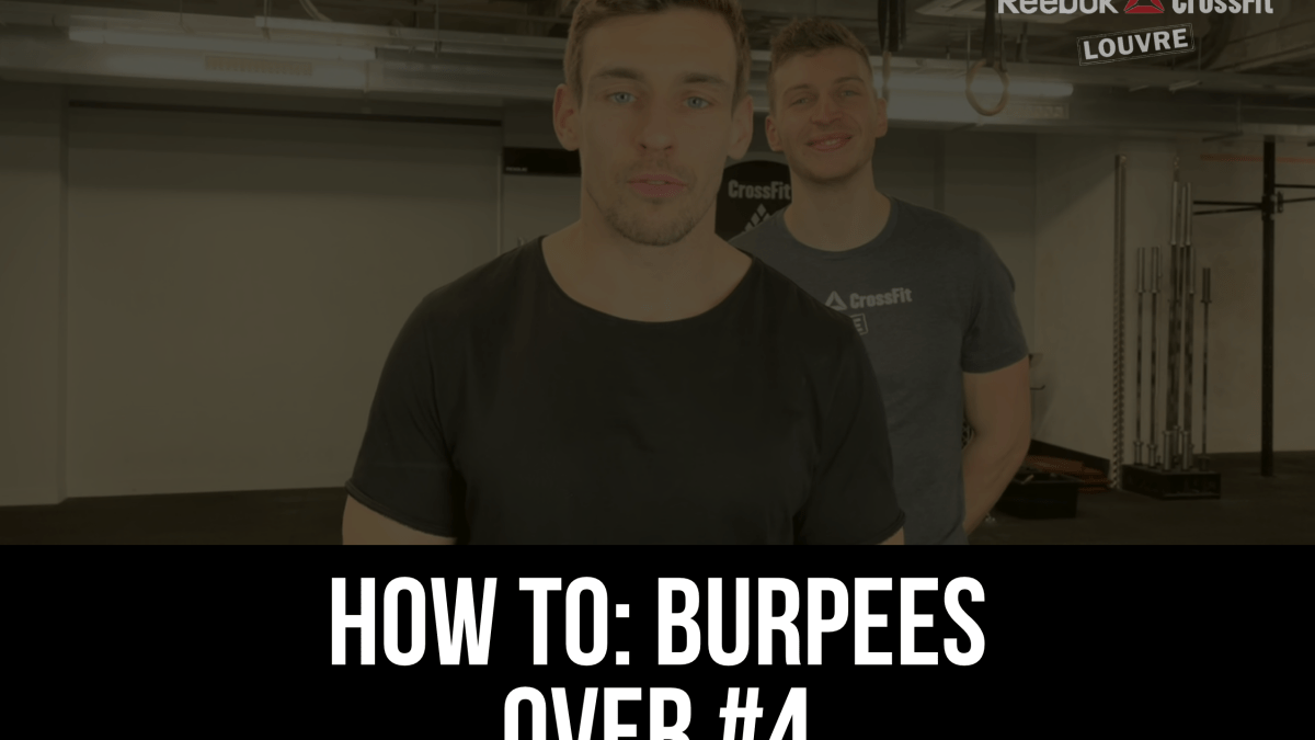 Burpees Over Tutoriel