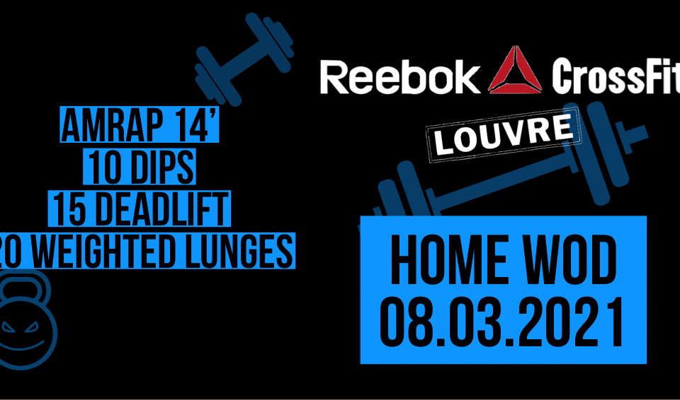 AMRAP Dips Weighted Lunges Deadlift