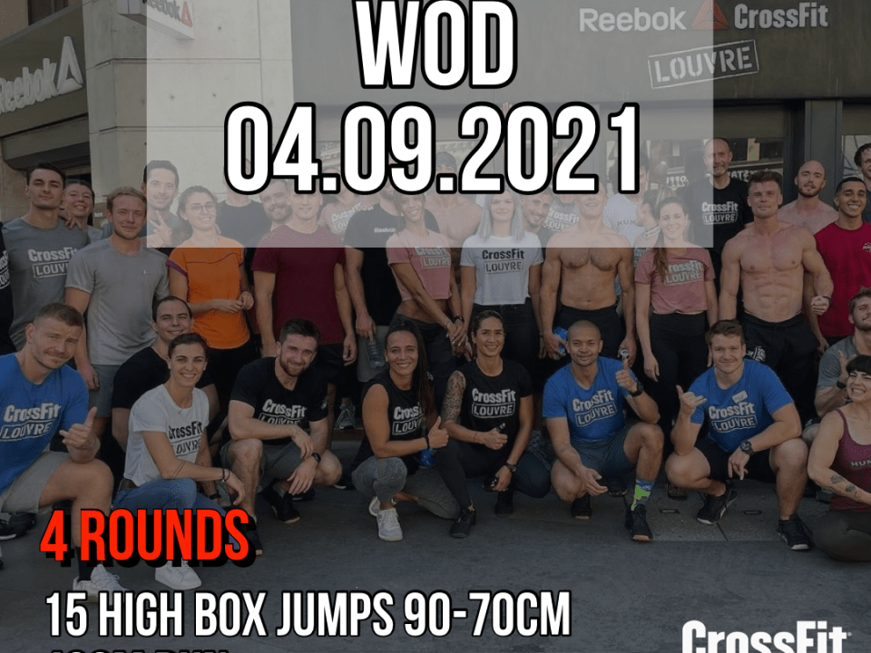 Couplet For Time Run High Box Jump