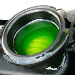 Reed switches in coolant flow sensing