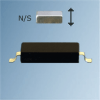 Actuation Distances for R4 Ultra Miniature Reed Sensors