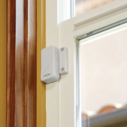 Reed switches in window security