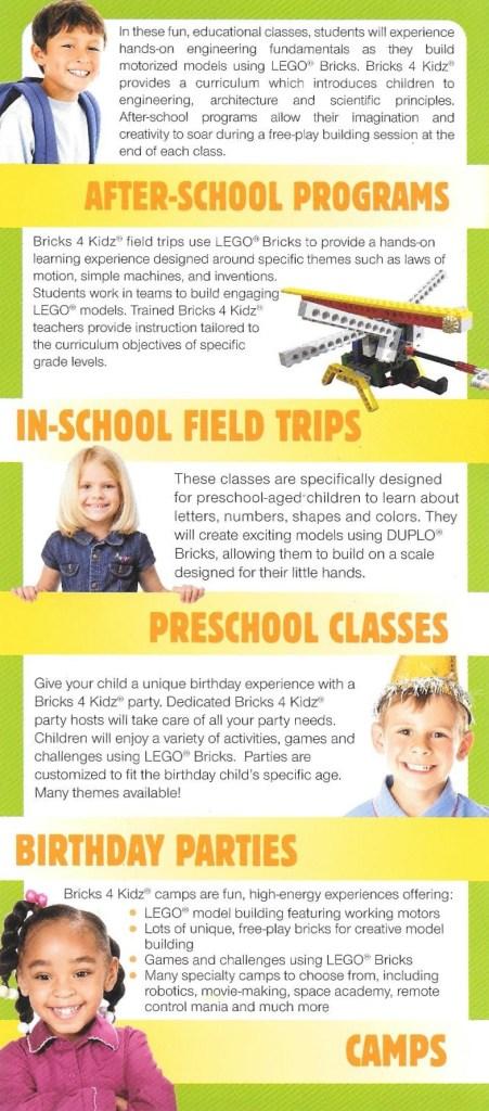 Bricks 4 Kids Info