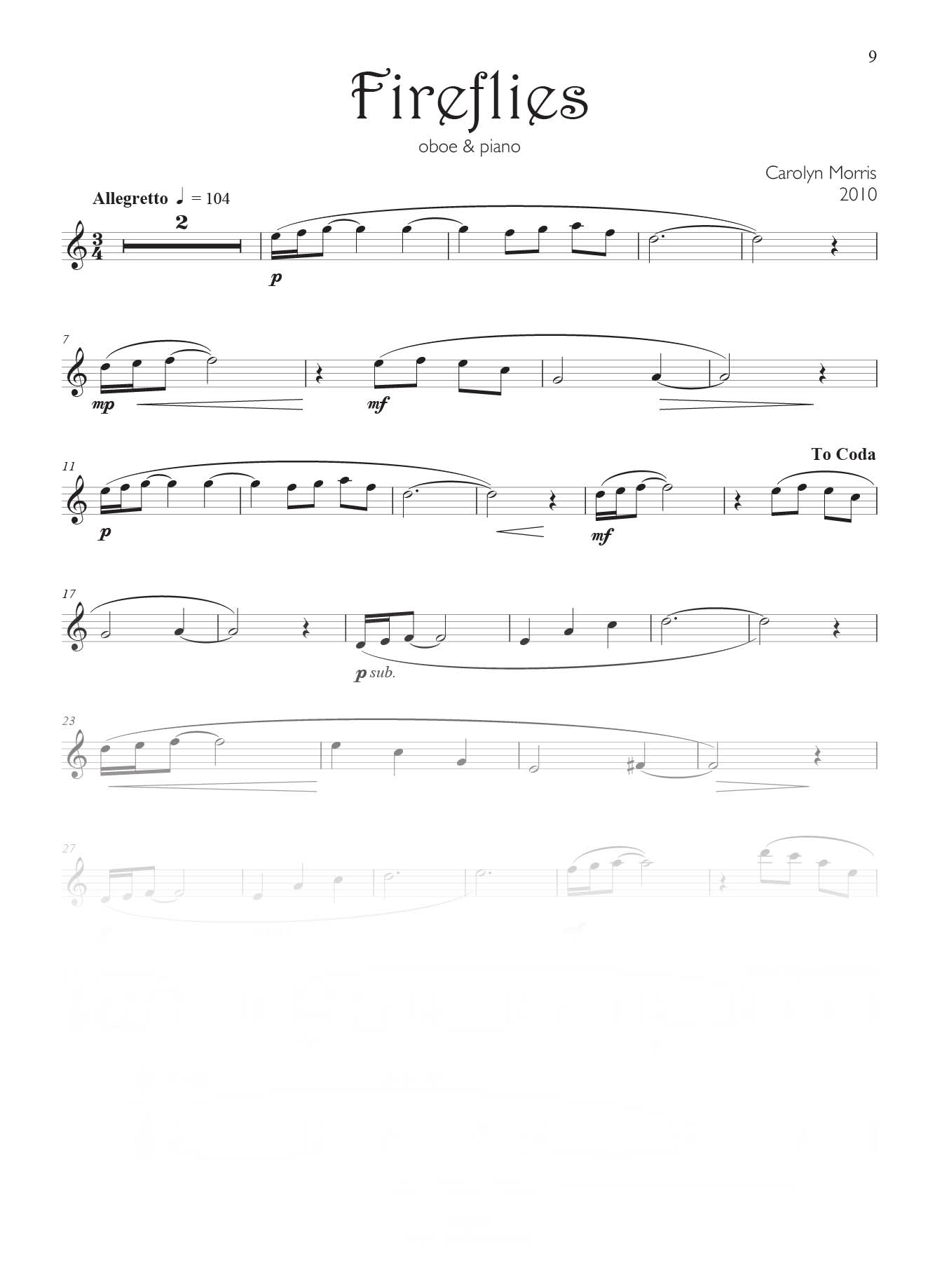 Oboe & Piano Level B   Reed Music