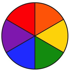 Colorful Wheel of Weed Template