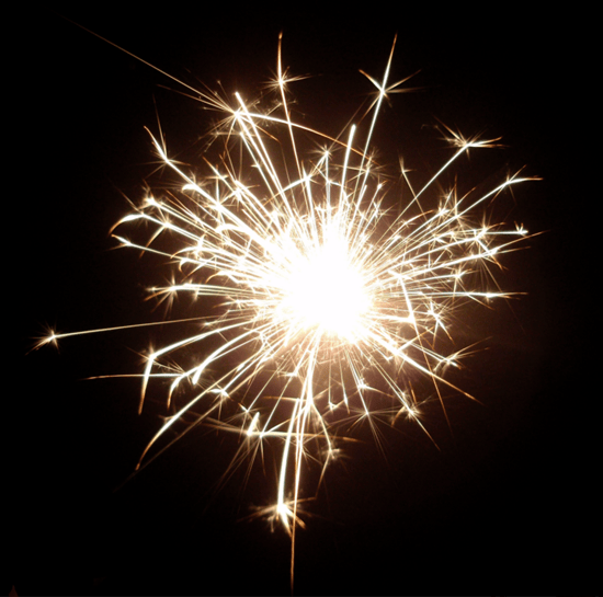 Sparks and fire - what kid wouldn't love that?