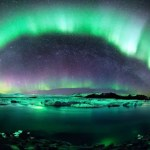 The Northern and Southern Lights (Aurora Borealis or Aurora Australis)