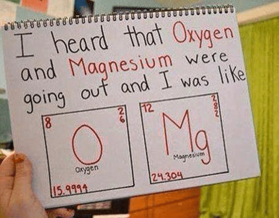 I heard that Oxygen and Magnesium were going out