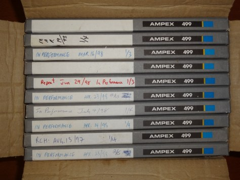Ampex 499 Reel To Reel Tape 10 pack