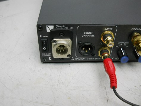 PS Audio Phono Preamplifier right channel output 2
