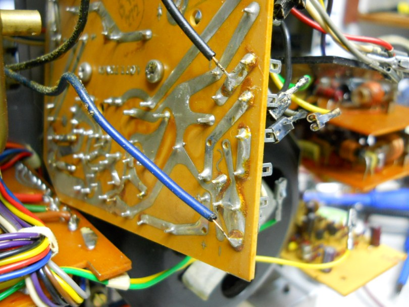 15 Revox A77 recap and overhaul Tom Mccartney circuit board