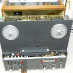 2 Revox A77 recap and overhaul front view out of shell