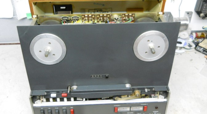 Revox A77 Recap and Overhaul