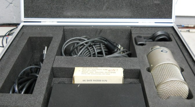 6 Neumann M147 upgrade with carry case