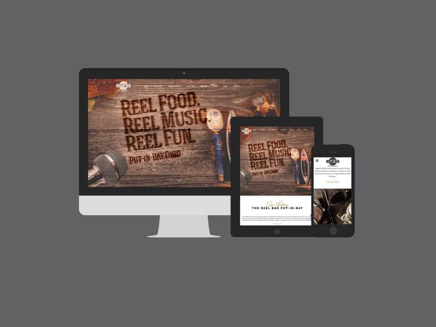 Reel Bar Put-in-Bay Launches a New Responsive Website
