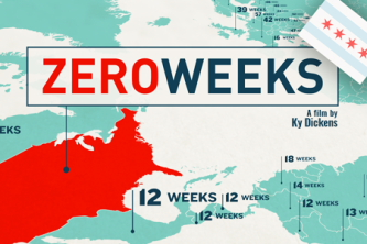 """Zero Weeks"" makes its Chicago premiere tomorrow night at AMC Theaters"