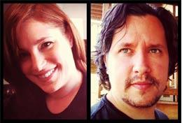 Corn Bred Films founders Amelia Dellos and Eric Anderson