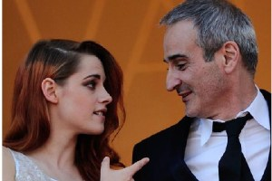 Kristen Stewart and director Olivier Assayas