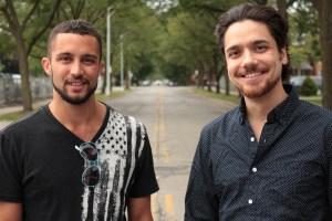 Digital Hydra founders Patrick Wimp and Hamzah Jamjoon