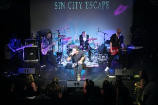 Sin City Escape performs at Battle of the Garage Bands