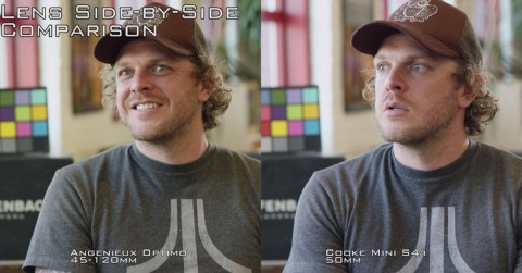 Comparison between Angenieux Optiimo and Cooke lenses