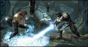 "Scene from the new ""Mortal Kombat"""