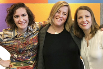 Chaucey Slagel, Sarah Anderson, and Jaime Hotz