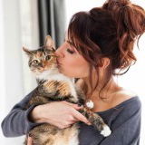 Jenny and her cat