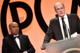 Richard Jenkins at the PGA Awards