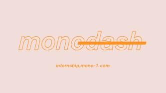 monodash_internship