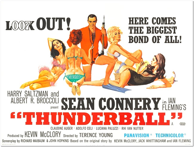 Image result for thunderball poster