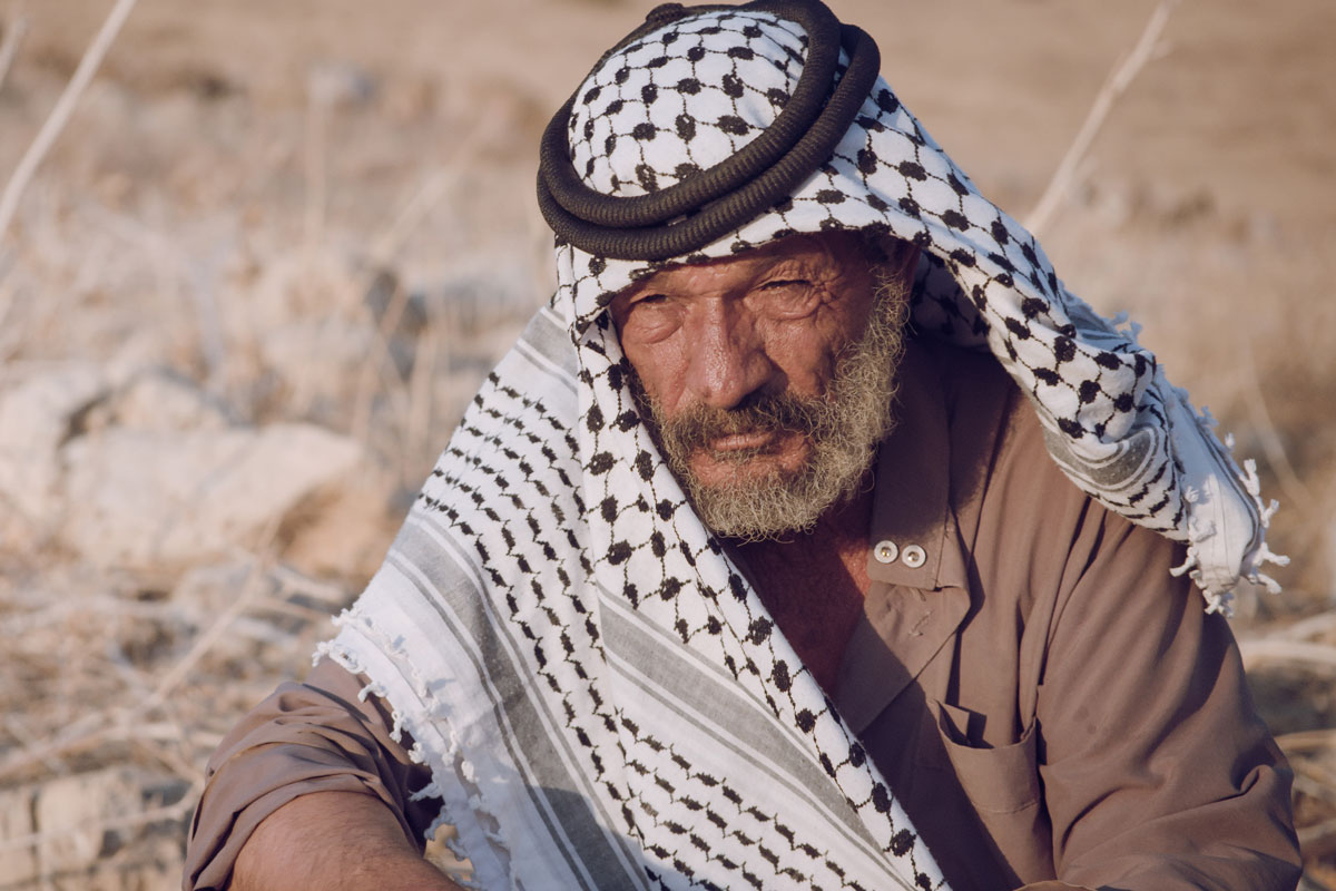 Palestinian farmer, the West Bank, occupied palestinian territories
