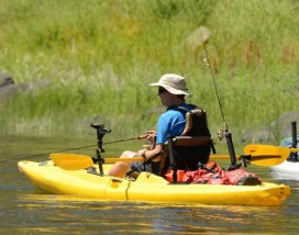 paddle board fishing or kayak fishing