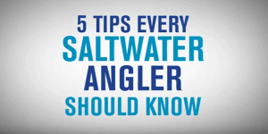 5 tips every saltwater angler should know