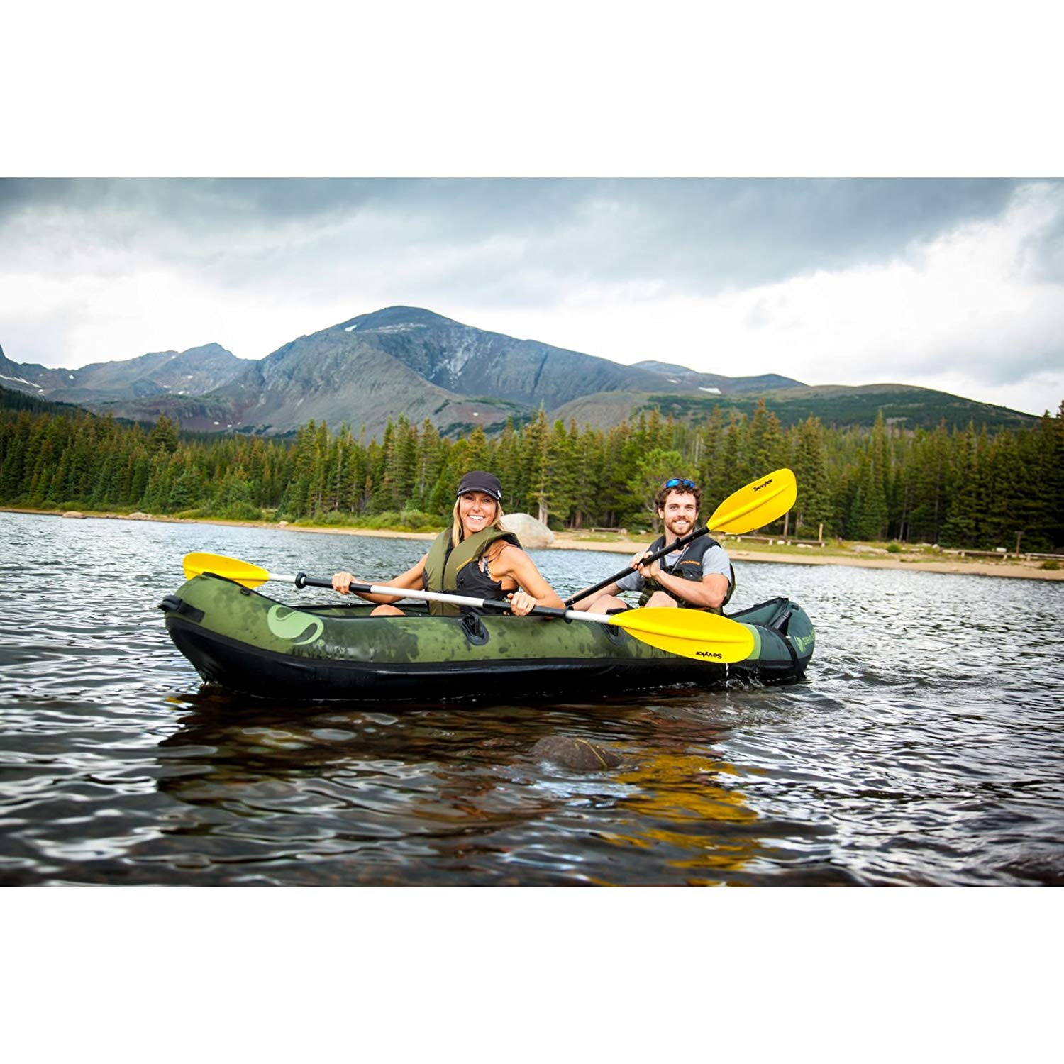 coleman 2 person kayak