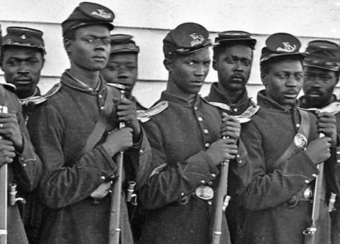 Slaves were Soldiers in the Union Armyof the North