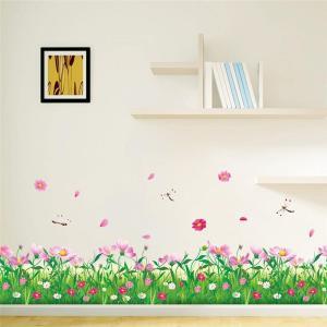 Wandbild Blumenwiese