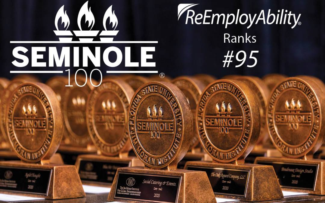 ReEmployAbility Recognized for Fifth Year on Seminole 100 List