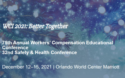 Come See What's New with ReEmployAbility at the WCI Workers' Compensation Educational Conference in December