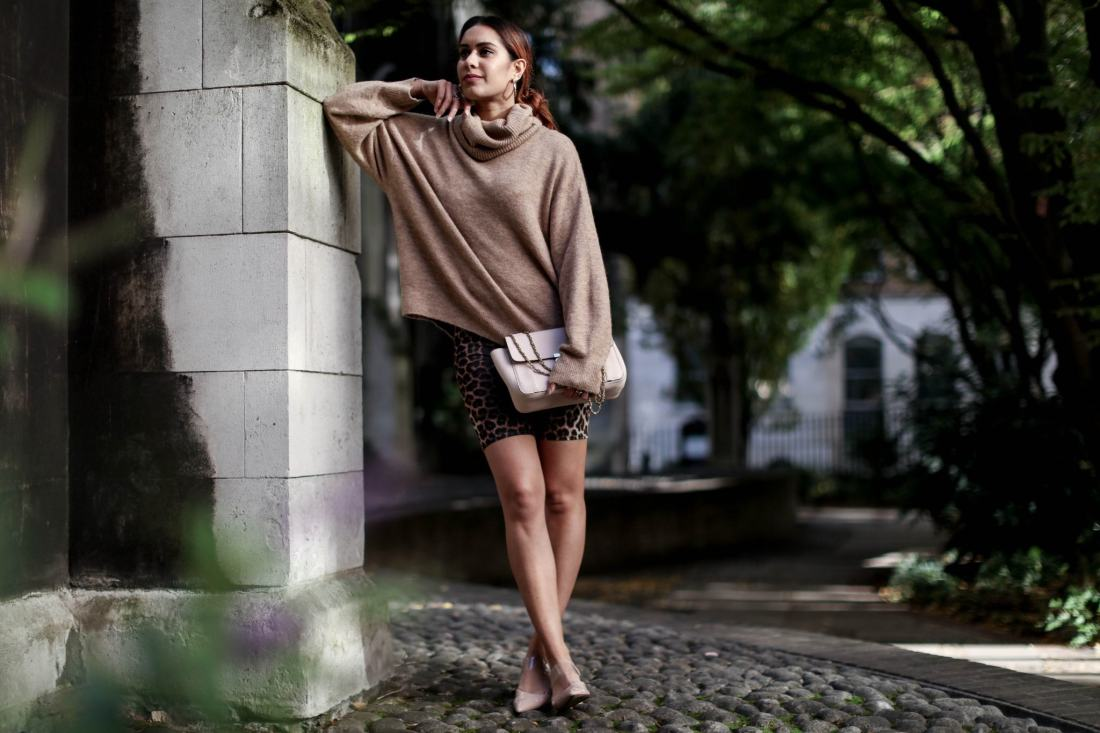 London blogger Reena Rai at St Dunstan of the East